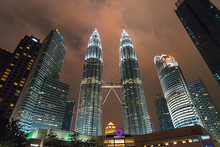 马来西亚吉隆坡双塔图片