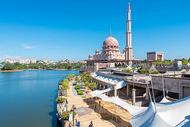 马来西亚布城清真寺图片