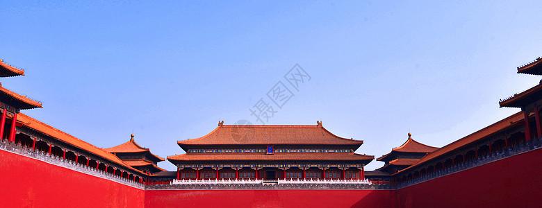故宫城楼古建筑图片