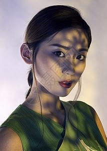 旗袍美女创意拍摄人像图片