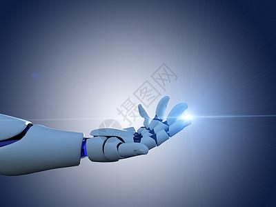 机器人之光图片