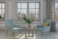 美式家居单椅组合图片
