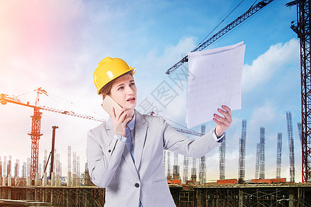 女工程师图片