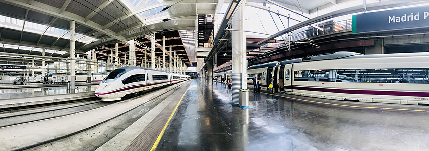 西班牙高铁站图片