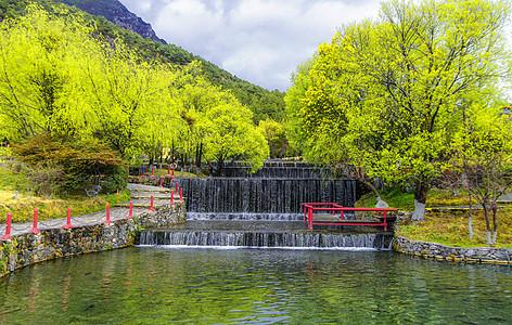 丽江玉水寨景区图片
