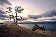 贝加尔湖秋色图片