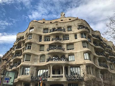米拉之家西班牙巴塞罗那城市风光图片