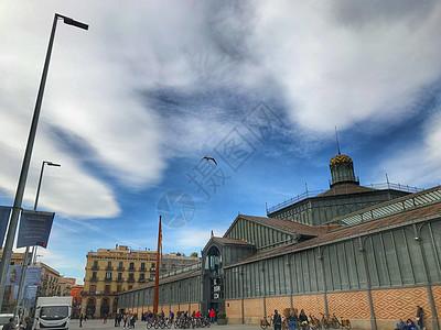 西班牙巴塞罗那城市风光图片
