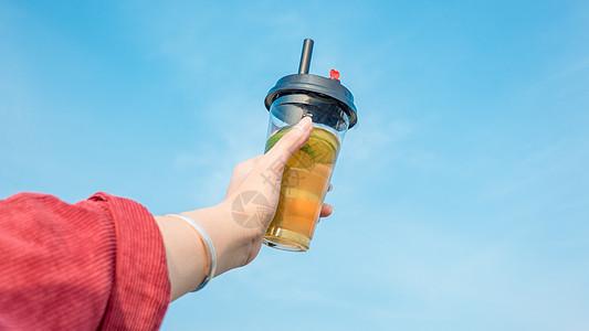夏日清凉柠檬茶图片