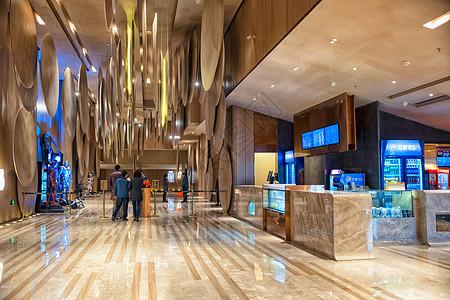 电影院入口图片