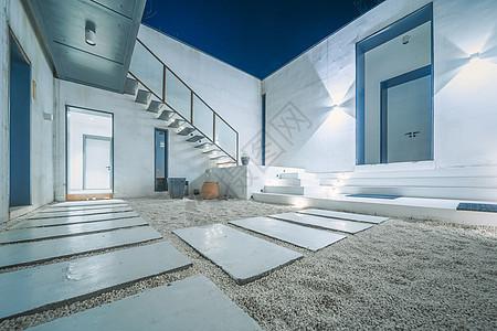 现代平房小院图片