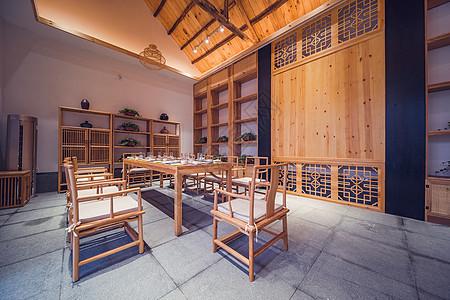 中式家居餐厅图片
