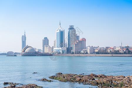 青岛海滨风光图片