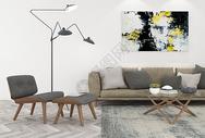 沙发单椅茶几组合图片