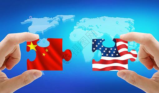 中美贸易之战 图片