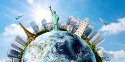 环游世界图片