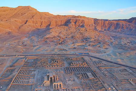 埃及卢克索帝王谷图片