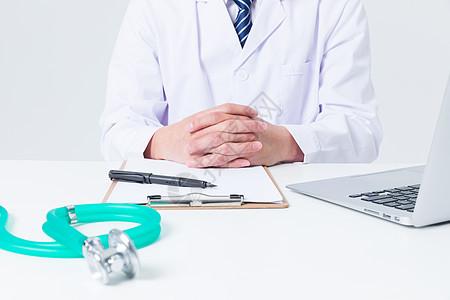 医生办公桌桌面图片