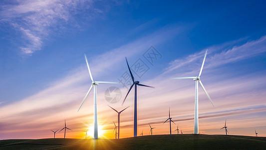 绿色能源电力发电图片