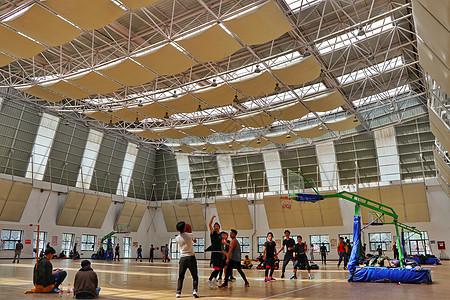 西藏大学体育馆图片