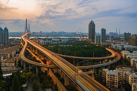 杨浦大桥图片