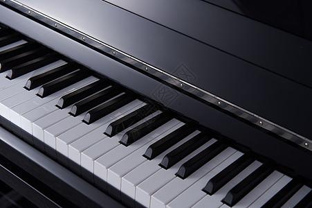 钢琴乐器类静物拍摄图片