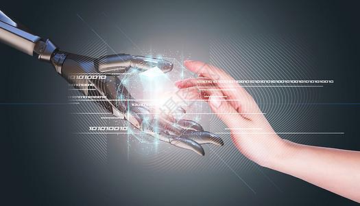 人工智能机器手图片