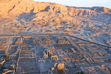 埃及卢克索帝王谷遗址图片