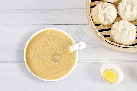 早餐小米粥图片