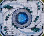 俯瞰武汉王家墩商务区地铁站图片
