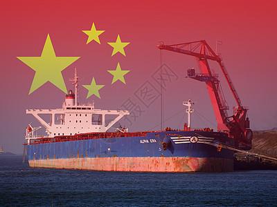 中国贸易港口图片