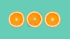 简约水果创意背景图片