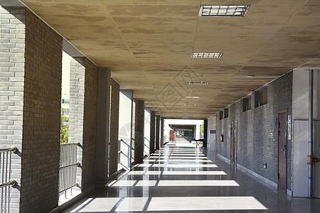 重复的走廊图片