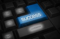 创意键盘上的成功因素图片