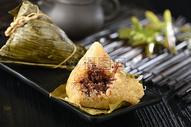 端午节豆沙粽子图片