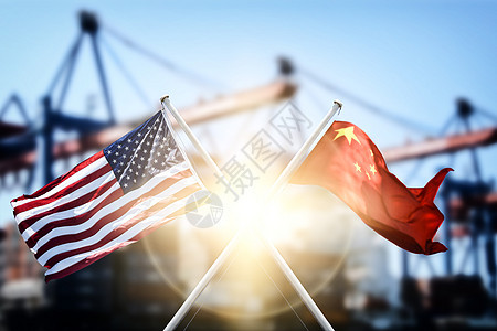 中美贸易较量图片