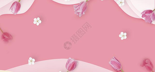 粉色温馨场景图片