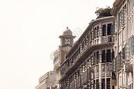 欧式建筑钟楼图片
