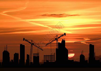 建筑工地场景图片