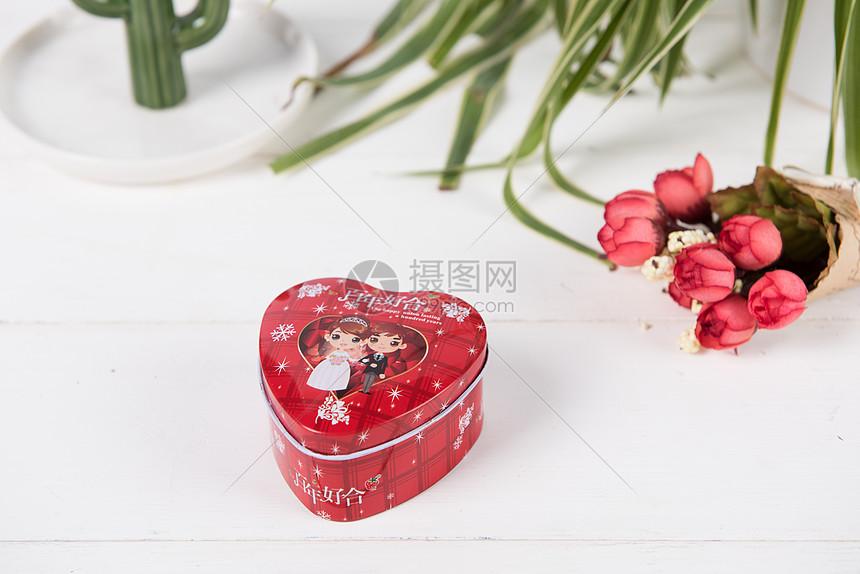 婚礼喜糖盒子图片