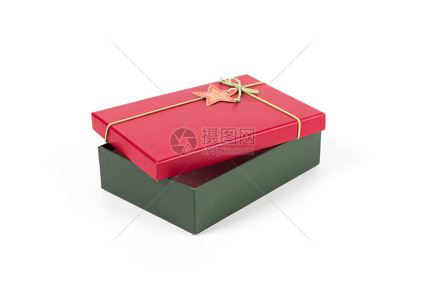 打开的礼盒图片