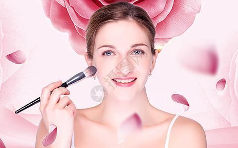 美容美妆背景图片