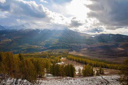 新疆禾木秋景图片