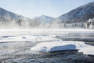 新疆喀纳斯冬季美景图片