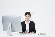 工作的职业女性500877760图片