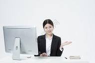 工作的职业女性500877761图片
