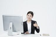 工作的职业女性500877762图片