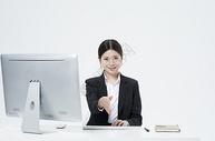 工作的职业女性500877763图片