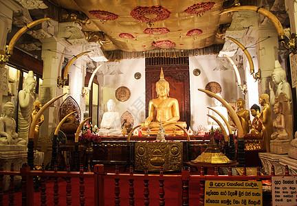 斯里兰卡古城康提佛牙寺图片