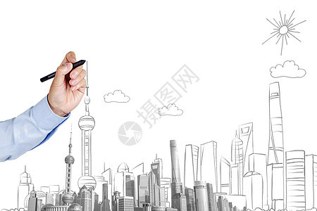 上海经济发展规划图片